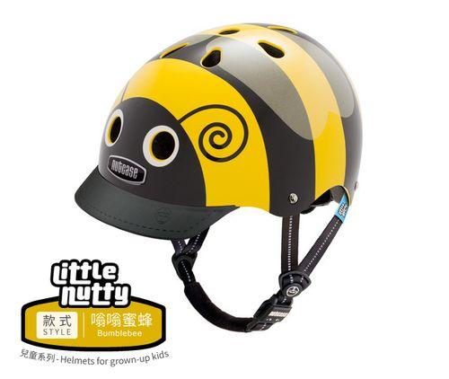 ★衛立兒生活館★美國Nutcase彩繪安全帽-Little Nutty兒童系列-嗡嗡蜜蜂#3436