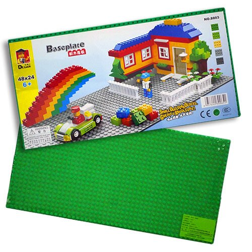 【樂博士】48 x 24 積木底板 8803 (綠色)