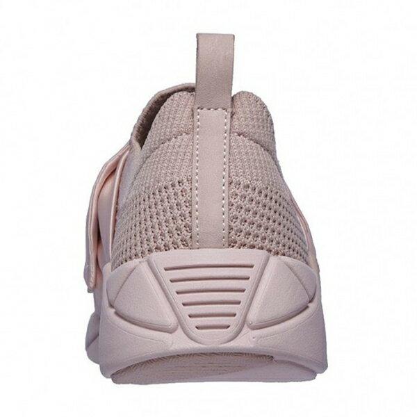Shoestw【68849PNK】SKECHERS 健走鞋 MARK NASON 記憶鞋墊 休閒鞋 襪套 緞帶蝴蝶結 玫瑰粉 裸色 女生尺寸 2
