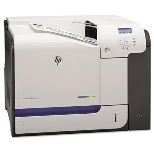 HP LaserJet 500 M551N Laser Printer - Color - 1200 x 1200 dpi Print - Plain Paper Print - Desktop - 33 ppm Mono / 33 ppm Color Print - A4, RA4, A5, B5 (JIS), B6 (JIS), A6, B5 Envelope, C6 Envelope, C5 Envelope, DL Envelope, ... - 600 sheets Standard Input 1