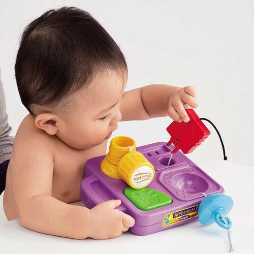 麗嬰兒童玩具館~日本People專櫃安全玩具-手指靈活訓練玩具-公司貨 1