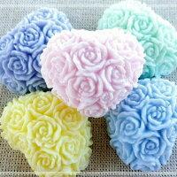婚禮小物推薦到婚禮小物-愛心玫瑰 (一組5入) 甜點皂/節日禮品【棠逸手作皂 】