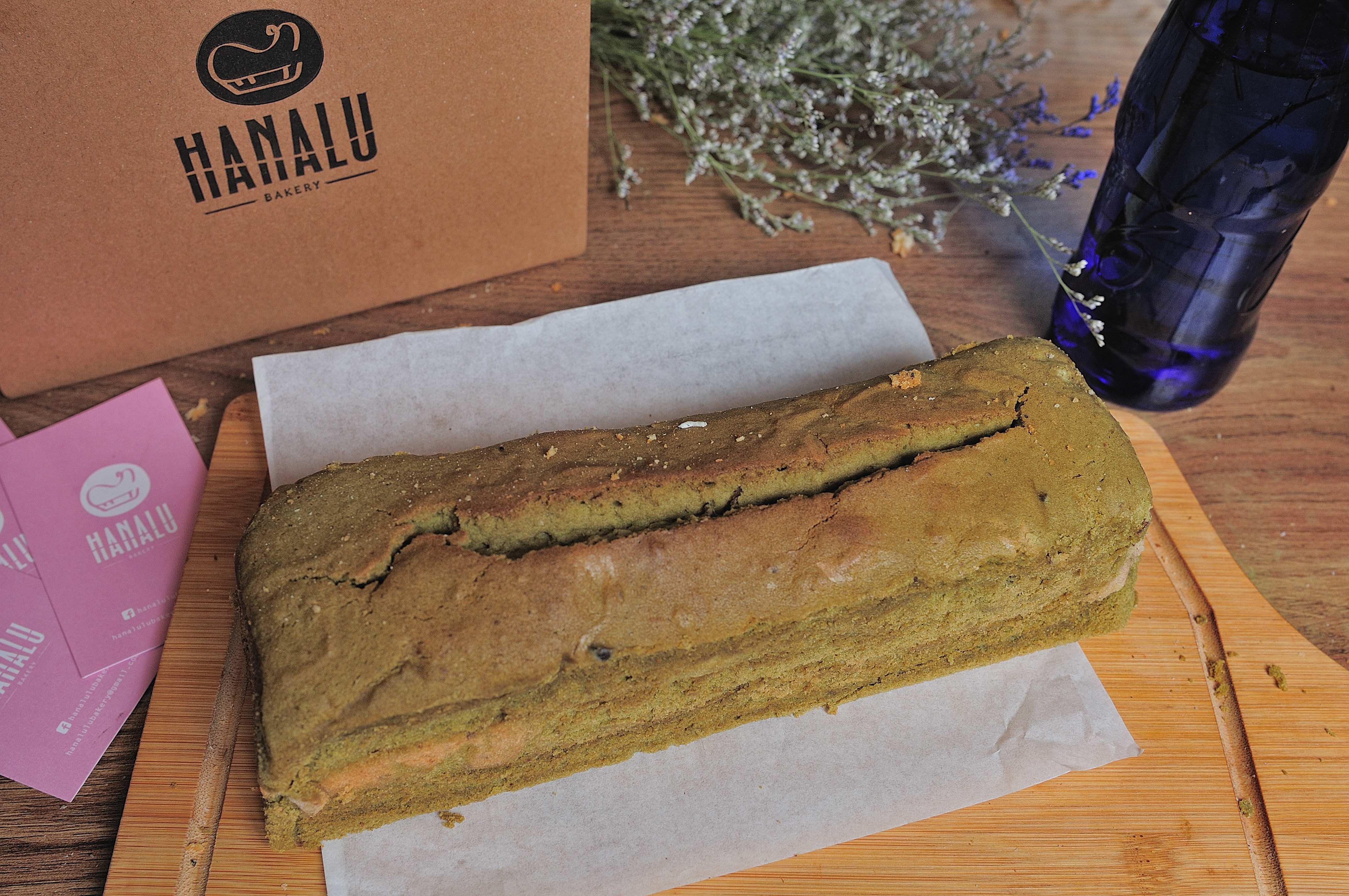 Hanalu Bakery 花露兒烘焙- pound cake 豆抹茶