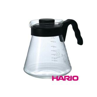 Hario VCS-03B 黑色微波耐熱咖啡壺/1000ml
