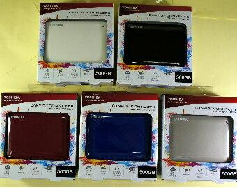Toshiba V8 3TB  USB3.0 2.5吋行動硬碟-(絨黑,罌紅, 雪白,蔚藍,?金)