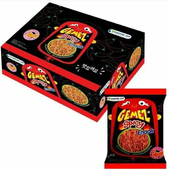 露比私藏:【預購】韓國ENAAK香脆小雞麵原味辣味一盒30包