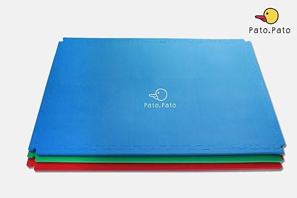 [Pato.Pato]外銷日本嬰幼兒安全EVA巧拼地墊 ( 120cm*80cm*2cm ) 紅、藍、綠 -台灣製造品質保證/SGS