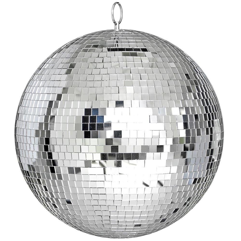 12 Mirror Glass Disco Ball Dj Decorative Home Party Bands Stage Lighting 0