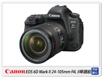 Canon數位單眼相機推薦到回函送3000元禮券+原廠電池~ Canon EOS 6D Mark II 24-105mm F4 II IS 單鏡組(6D2 24-105 II,公司貨)就在閃新科技推薦Canon數位單眼相機