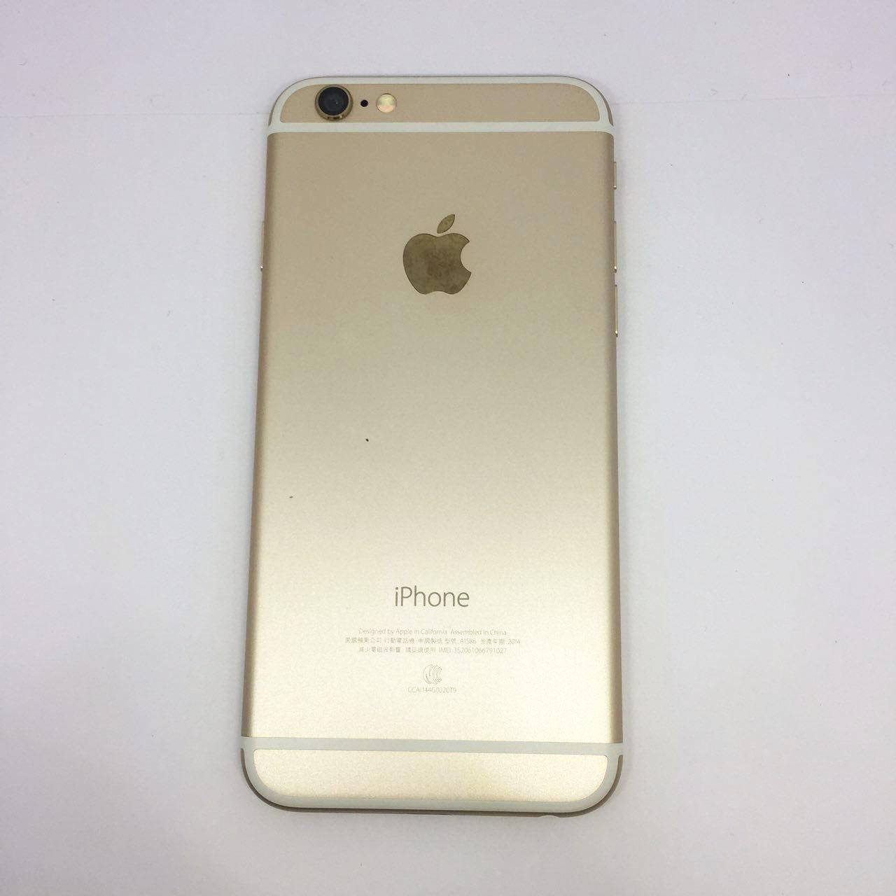 【創宇通訊】iPhone 6 64G金色【福利機】