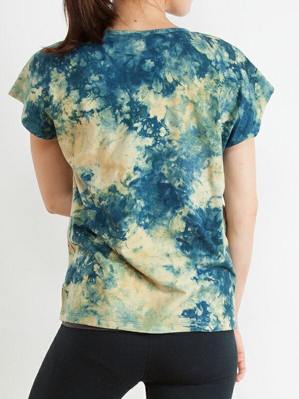 【Bali】100%有機棉自然紮染T恤 3