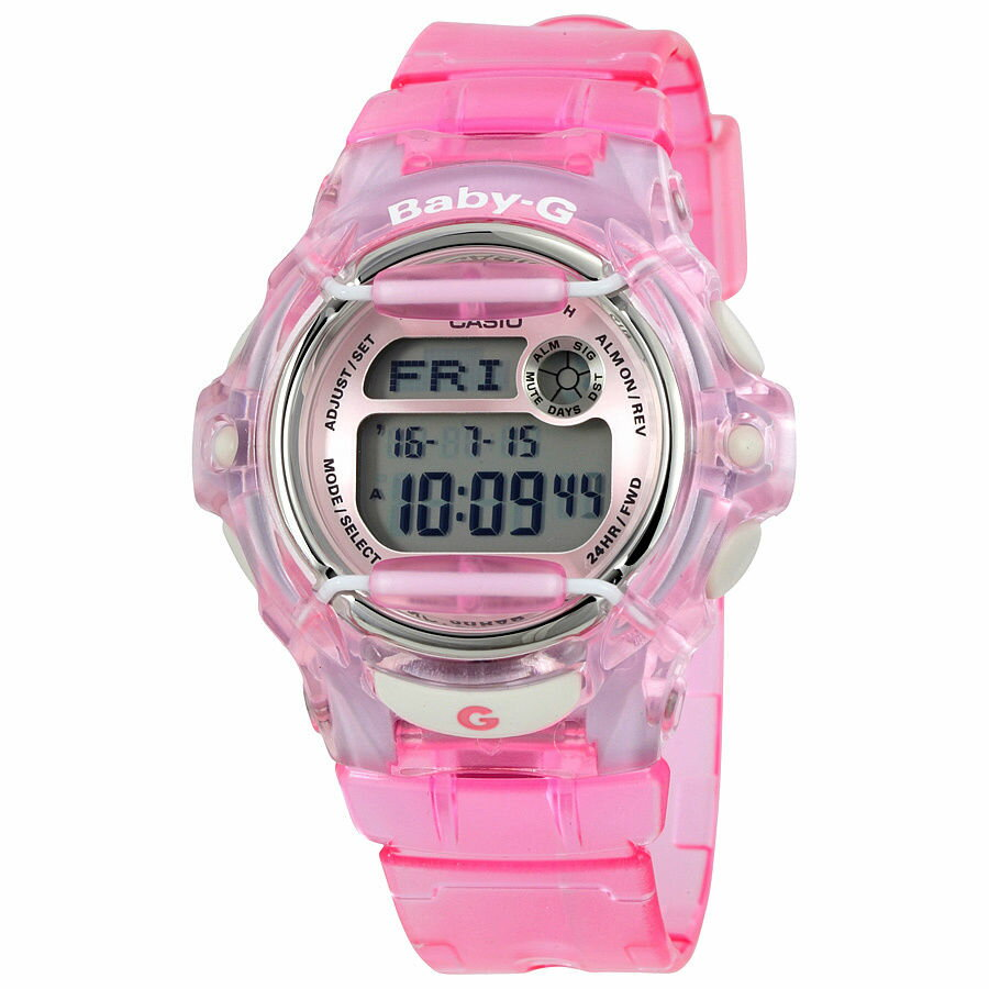 Casio Women's BG169R-4 Baby-G Pink Whale Digital Sport Watch 0