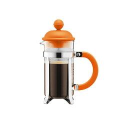丹麥BODUM CHAMBORD濾壓壺350CC(橘/奶茶)