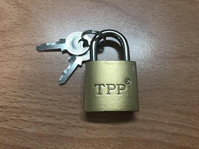 【省錢博士】優質掛鎖小銅鎖 25mm