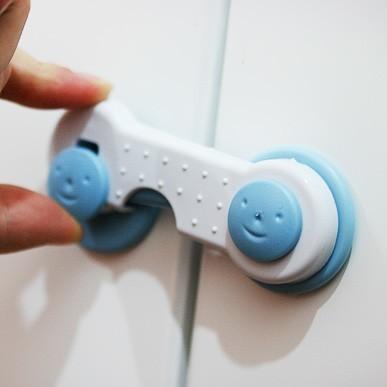 安全鎖 兒童安全鎖 冰箱鎖 衣櫃鎖 兒童鎖 抽屜鎖 櫃子鎖 防開鎖 另售防撞條 【CD019】