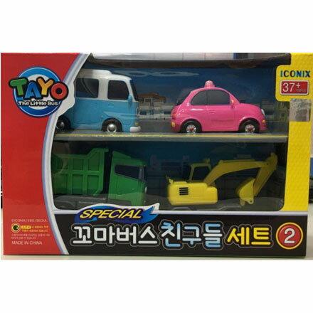 TAYO小巴士 - 綜合小車4件組