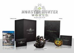 【全新未拆】PS4 魔物獵人 世界 MONSTER HUNTER WORLD 中文版 典藏版 附限定特典 MHW 台中