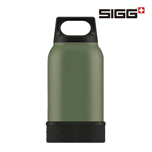 SIGG Food Jar 食物真空悶燒罐 0.5L 軍綠色 附碗及湯匙 - 限時優惠好康折扣