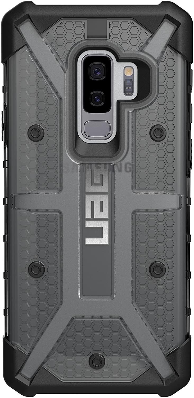 【美國代購-現貨】UAG專為三星Galaxy S9 Plus設計 軍用摔落測試手機殼 灰黑