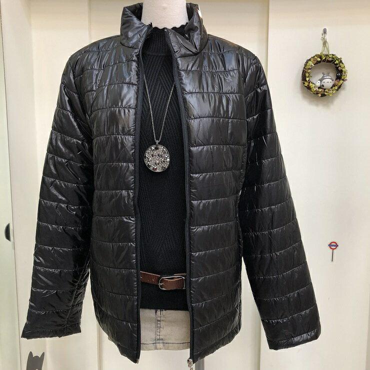 超取免運 黑 防潑水 防水 防風 鋪棉 保暖 外套 夾克 大衣 女裝 女 女生