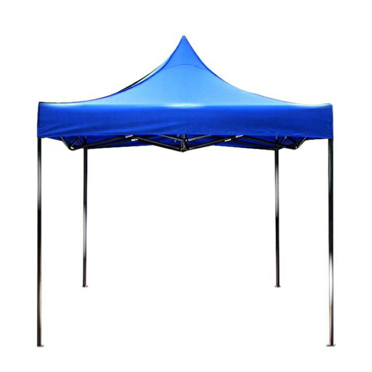 戶外廣告折疊帳篷印字伸縮四角帳篷傘擺攤雨棚車棚大傘雨篷遮陽棚 【新年鉅惠】