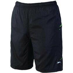【H.Y SPORT】《Slazenger》570409抗紫外線四面彈力網球短褲/運動短褲/排汗(黑)