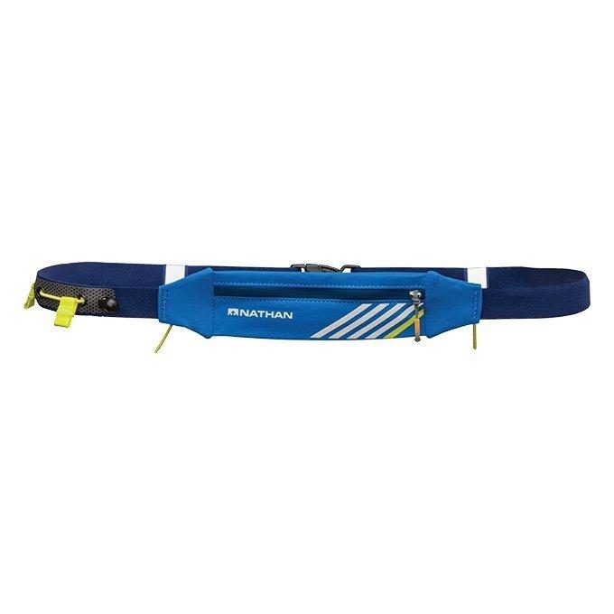 NATHAN LightSpeed 光速補給防潑腰包帶 藍色 (附號碼夾)