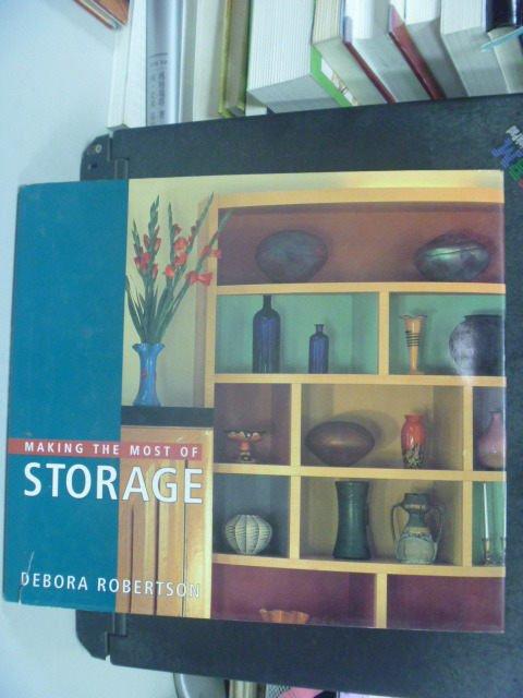 【書寶二手書T2/設計_KHI】Making The Most Of Storage_Deborah