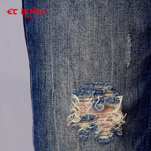 【990元優惠↘】男友風格破垮褲 - BLUE WAY  ET BOiTE 箱子 2
