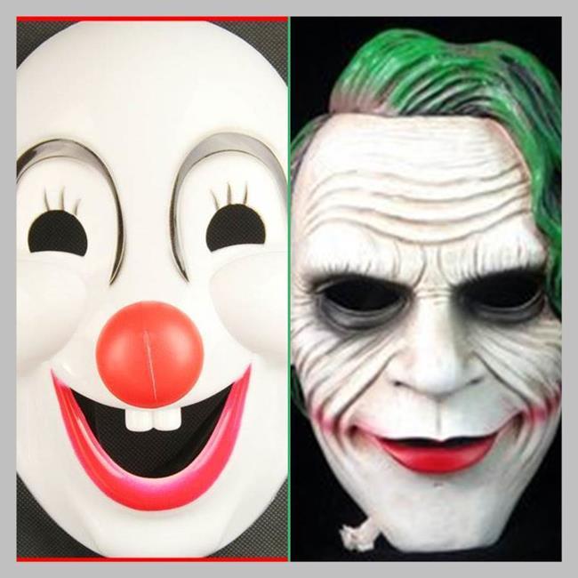 蝙蝠俠 小丑 萬聖節 面具 面罩 面紗 蝙蝠小丑 殺手系列 cosplay 變裝 生日【塔克】