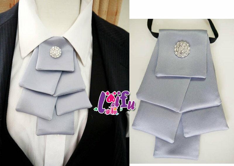 來福,k241聖誕樹層次領結結婚領結領花新郎領帶台灣製,售價300元