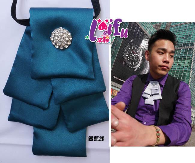 來福,k390聖誕樹層次領結結婚領結領花新郎領帶台灣製,售價300元