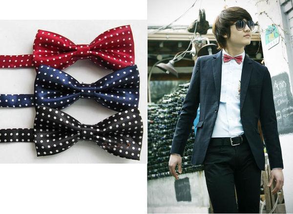 來福,型男三色點點小領結可搭配襯衫T恤兒童也可用,直購價69元,現+預7-10