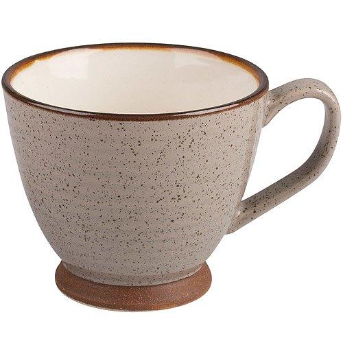 《CreativeTops》Cafetiere寬口沙感茶杯(棕250ml)