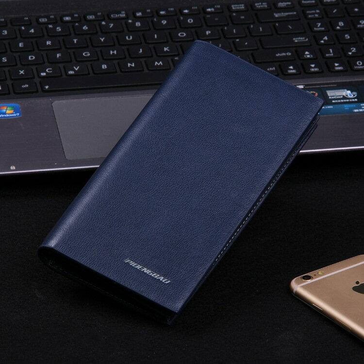 【瞎買天堂x商務推薦】韓版商務長夾 搭配西裝很有型!可放多張卡片及sim卡 皮夾 錢包 【CBAA0306】