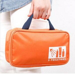 美麗大街【BF300E15E855】韓版帶提手大容量旅行收納包洗漱包