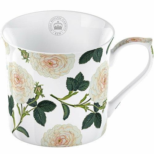 《CreativeTops》Kew骨瓷馬克杯(白玫瑰230ml)