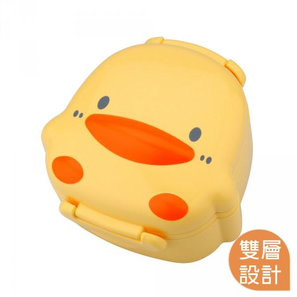 【嬰兒用品】黃色小鴨PiyoPiyo-微波造型便當