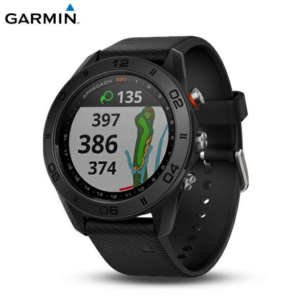 [富廉網] 【GARMIN】Approach S60 高爾夫球GPS腕錶 紳士黑/爵士白/尊爵版