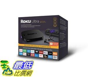 [8美國直購] 播放器 Roku Ultra HD/4K/HDR Streaming Media Player Voice Remote Remote Finder USB B07HDHXZH4