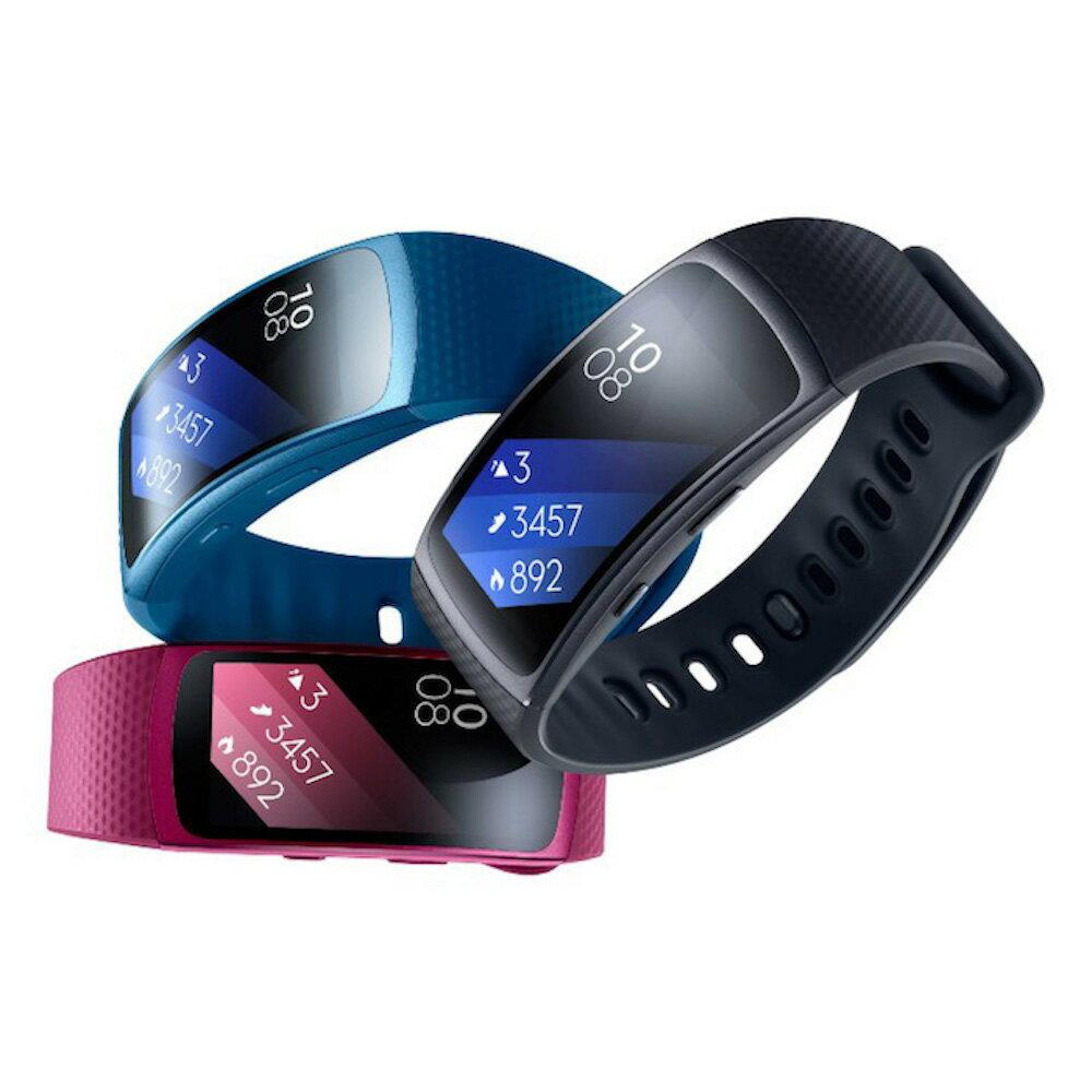 Samsung Gear Fit2 藍牙智慧運動手環(贈200元家樂福禮券)