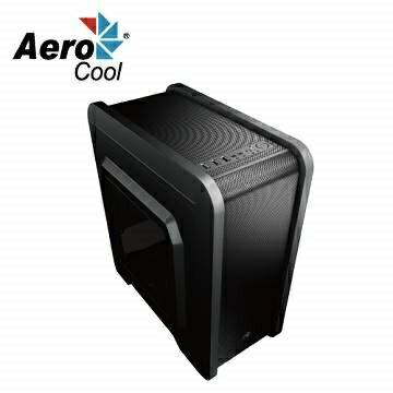 """【迪特軍3C】Aero cool QS-240 電腦機殼 無與倫比的氣流 防塵濾網 水冷支持 2小 3個2.5""""插槽"""