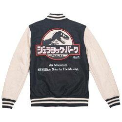 全新 BEETLE BAIT X JURASSIC PARK JACKET 侏儸紀公園 黑卡其 LOGO 棒球外套 外套