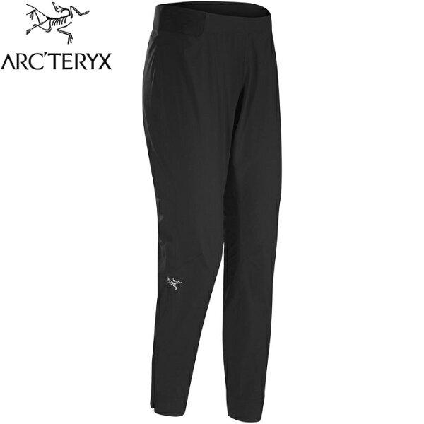 Arcteryx始祖鳥Cita彈性長褲排汗長褲登山褲休閒褲跑步健身20965女款黑色