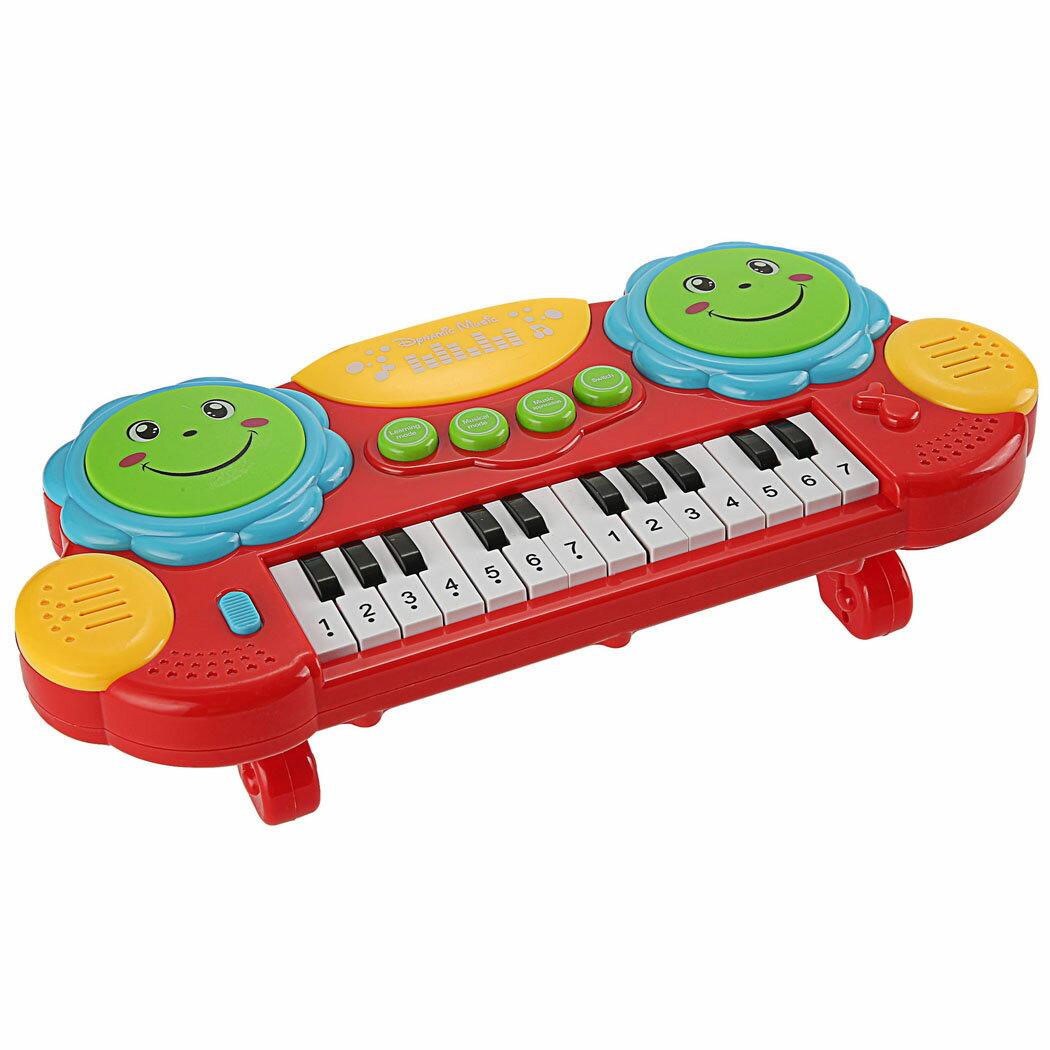 Baby Kids Educational Development Music Instrument Toy Battery Electronic Organ Keyboard Hand Beat Pat Drum Piano 3