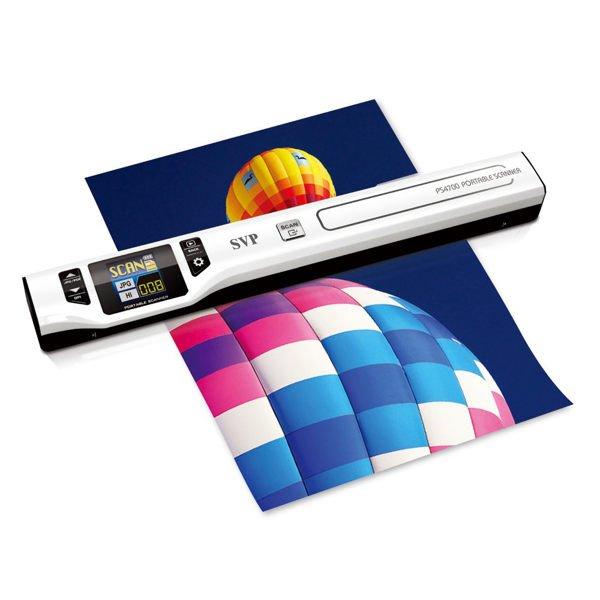 【新風尚潮流】 傳揚 SVP PS4700 彩色螢幕 手持式 掃描器 PS4700