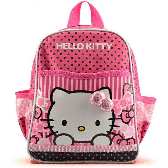 新款特價hello kitty書包 卡通彩印雙肩背包10寸韓版女童休閑背包