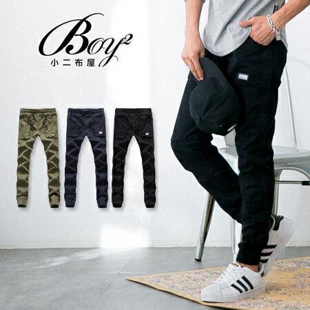 ☆BOY-2☆【NQ95051】縮口褲 休閒束口褲大口袋工作褲 0