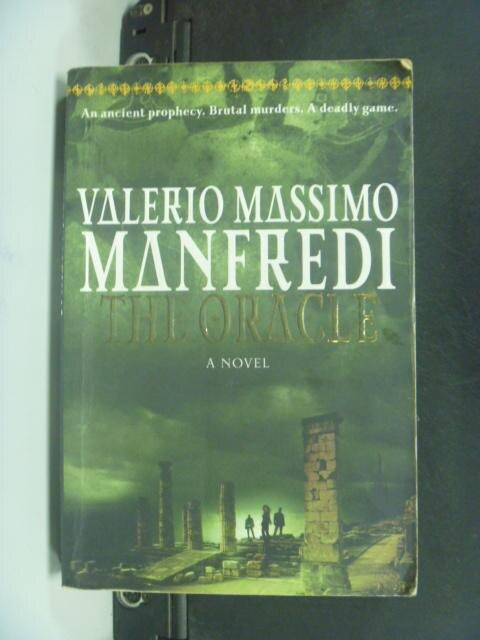 【書寶二手書T9/原文小說_KDS】The Oracle_Manfredi, Valerio