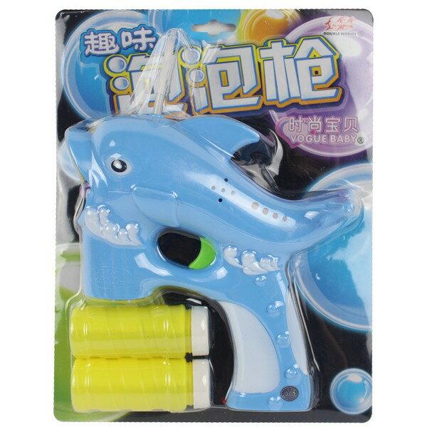 大海豚泡泡槍 自動泡泡槍+泡泡水 (附電池)/【一袋5支入】 促[#199]燈光電動泡泡槍 吹泡泡機~CF83076.CF80900